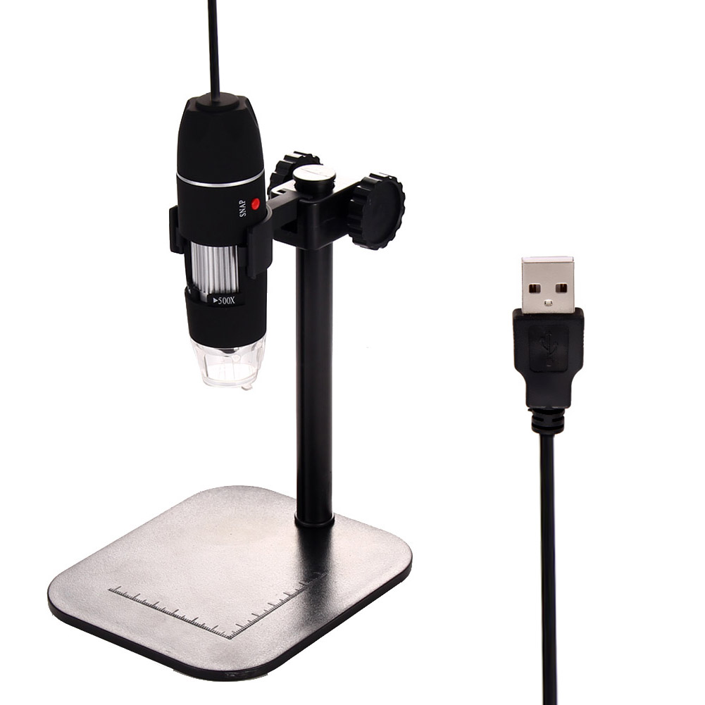 High Quality S02 50X - 500X USB Microscope LED Lights COMS Sensor for Video CA1T(China (Mainland))