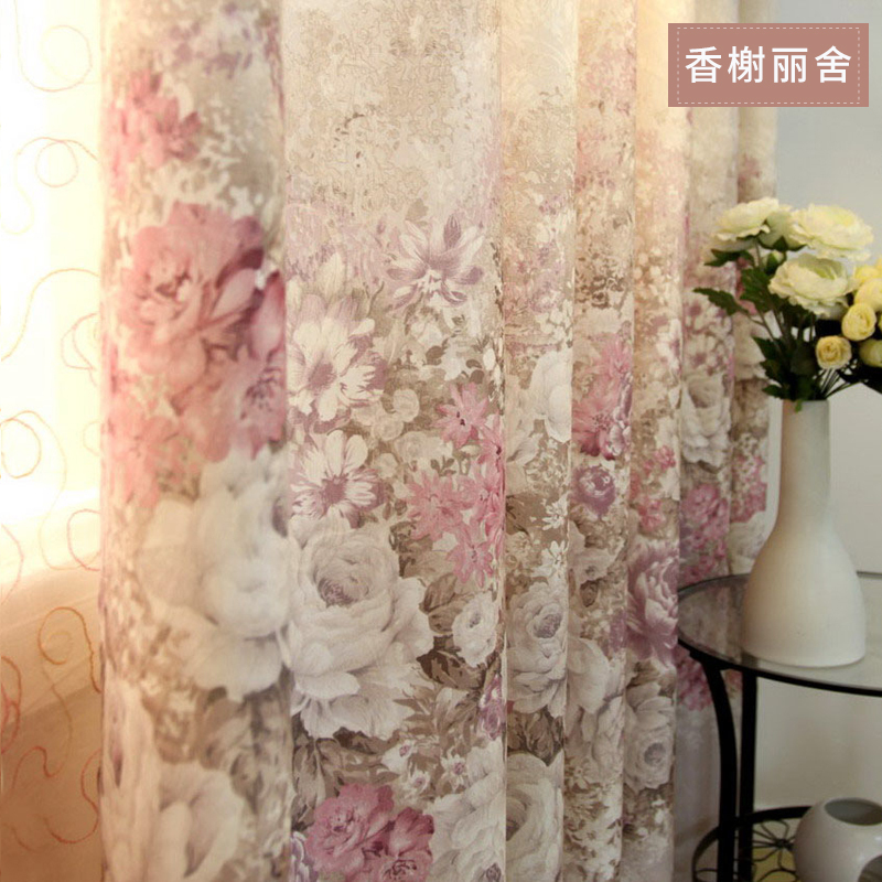 Aliexpresscom  Buy Europe Printed jacquard organza fabric for sheer panel F