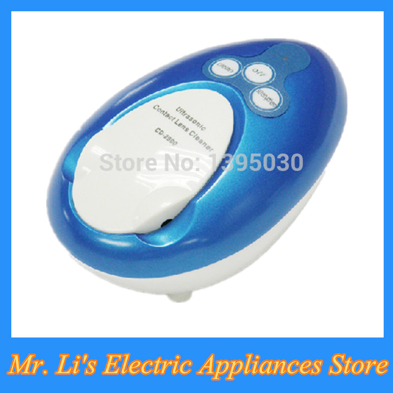 1pcs Colorful Mini Ultrasonic Cleaner Contact Lens Cleaner CD-2900(China (Mainland))