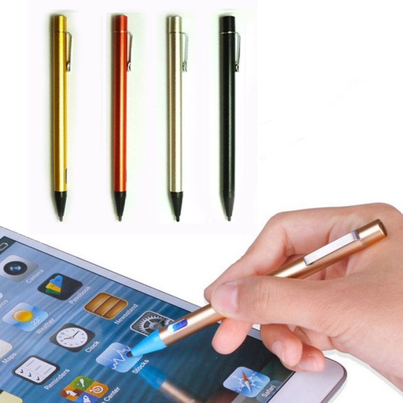 Recognition Screen Stylus Pen Rechargeable capacitive stylus for iphone IOS for Android for Kindle tablets(China (Mainland))