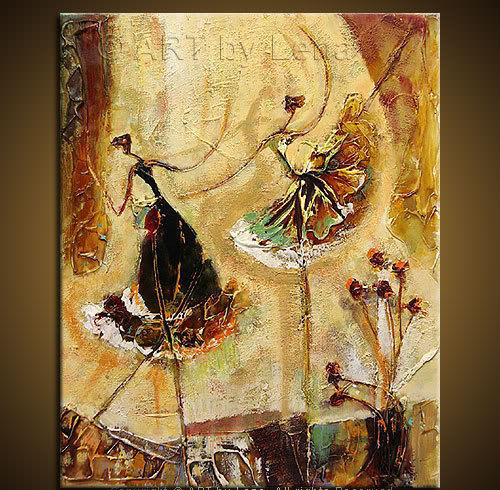 Abstract Paintings of Ballet Dancers images