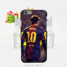 1pcs Messi Athlete & Sports Stars Series Protective hard black Case for iphone6(4.7inch) and iphone6 plus(5.5inch)