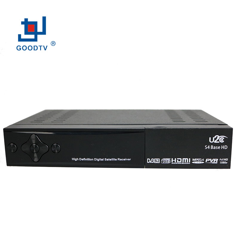 U2C Digital Satellite Receiver DVB S4 Base High Definition Mini Full HD Media Player USB WIFI/GPRS/3G Function Free Shipping(China (Mainland))