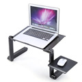 Hottest MultiFunctional Folding Laptop Table Stand Desk Bed Sofa Tray 360 Rolling Adjustable Portable Computer Desk