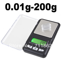 Buy dhl/fedex 200pcs Pocket Balance Electronic Digital LCD display Weight Jewelry Scale 0.01g x 200g Retail box for $588.05 in AliExpress store
