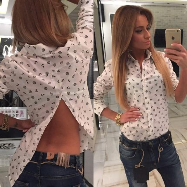 Блузка Из Рубашки Своими Руками В Новосибирске