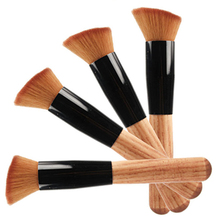 Hot 2015 New Promotion Professional Wood Handle Soft Beauty Makeup Cosmetic Foundation Powder Blush Brush Tool