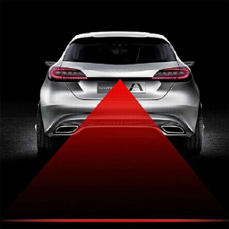 Гаджет  Newest Anti Collision Rear-end Car Laser Tail Fog Light Auto Brake Parking Lamp Rearing Warning Light None Автомобили и Мотоциклы