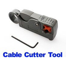 2015 Hot Sell Rotary Coax Coaxial Cable Cutter Tool RG58 RG6 Stripper H1E1