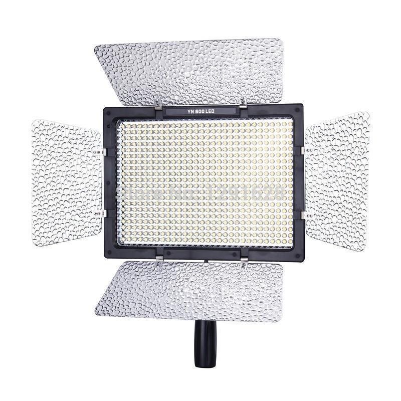 YONGNUO YN600 YN-600C LED 3200k-5500k Color Temperature Adjustable 600 LEDs Video Light YN-600 <br><br>Aliexpress