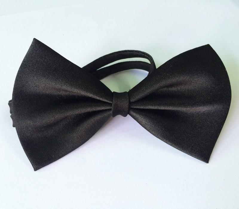 dog bow black