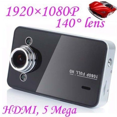 2.7 inch Full HD 1920*1080P 25fps Car DVR Video Recorder+120 degree view angle+ 5.0 Megar Pixels Camera+ HDMI out k6000