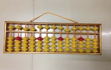 high quality 13 column wood hanger big size  Abacus Chinese soroban Tool In Mathematics Education  for teacher XMF018