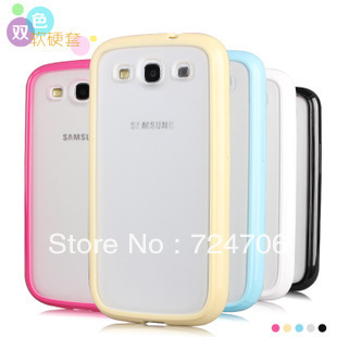 Cell Phone Case For Samsung Galaxy S3 i9300 charming case TPU+PC material, free shipping