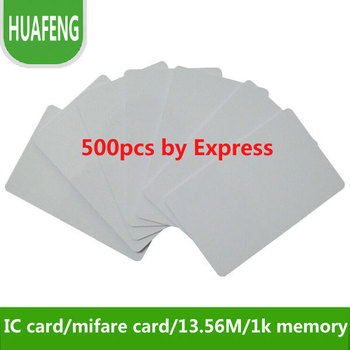 Free shipping by DHL ,RFID IC card 13.56MHz  ,s50,1k memory, access control / time attendance/ car parking+min:500pcs