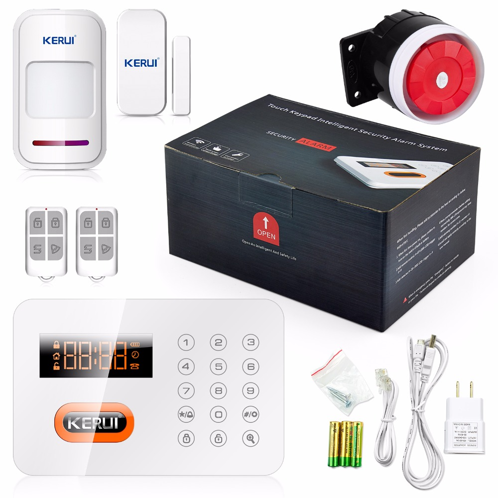 Buy kerui home alarm systems pstn keypads for Buy house alarm system