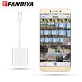 FANBIYA Type c SD Card Reader Adapter Cable Short Type c Camera Cables for Nexus 5X