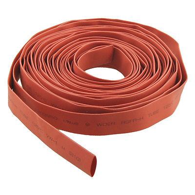 """8M 26.2FT 10mm 3/8"""" Diameter Heat Shrink Tube Red(China (Mainland))"""