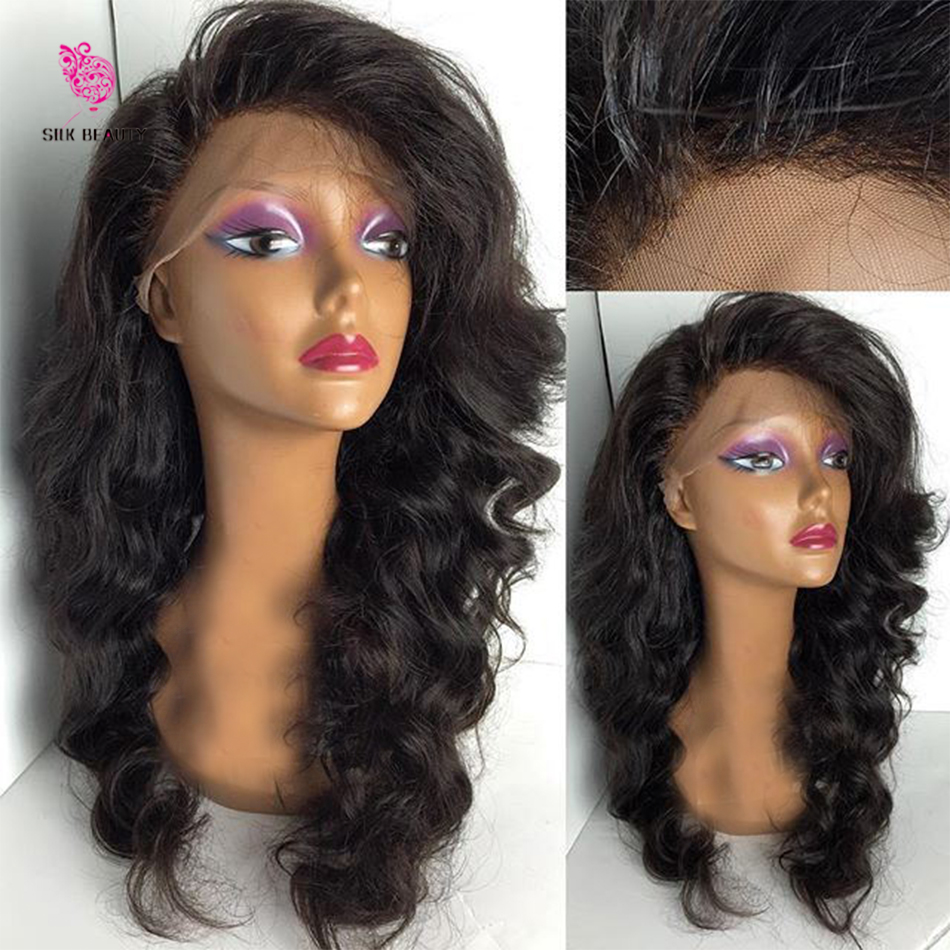 7A Malaysian Virgin Hair Wig Full lace human hair wigs for black women Glueless full lace wig With Bbay Hair Lace front wig(China (Mainland))