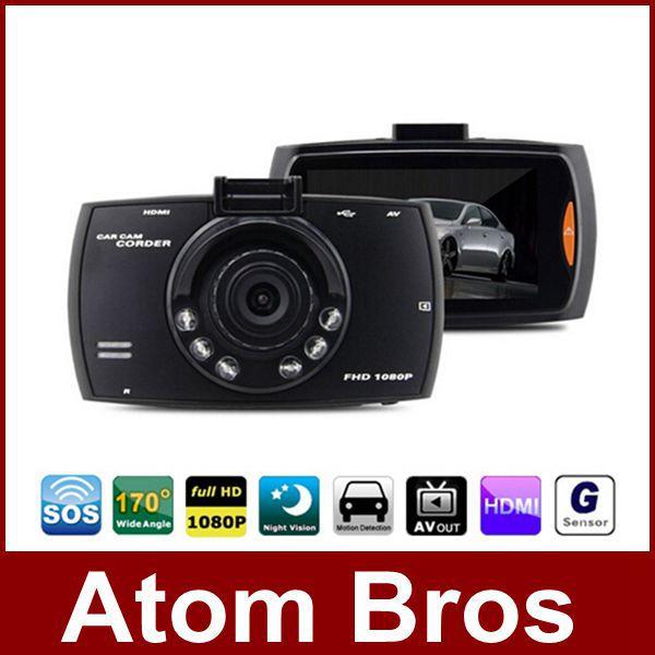 "Original Novatek 2.7"" Car DVR Camera Recorder Camcorder Full HD 1080P Dash Cam Night Vision 170 Wide Angle Vehicle Black Box(China (Mainland))"