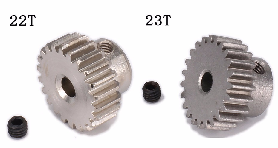 18T19T20T21T22T23T24T25T26T29T Tooth Teeth Pinion Gear for 1.10 model car  (4)