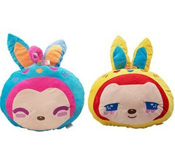 New Type Car Accessories  Cushion Stuffed Toy Soft Toy  Hug Pillow  Lovers Gift PP Cotton 2 PCS