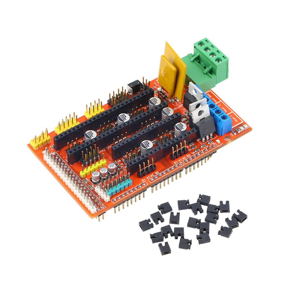 1set 3D Printer Control Board Printer Control for RAMPS 1 4 Reprap Mendel Prusa DIY kit