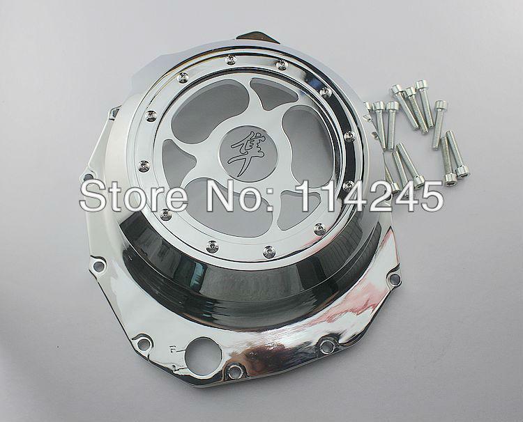 Glass Motorcycle Engine Clutch Cover For Suzuki GSX1300R Hayabusa 1999 2000 2001 2002 2003 2004 2005