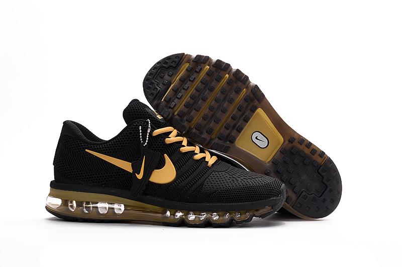 2016 Nike Air Max 2017 KPU men Running Shoes Original Sports Shoes Free Shipping