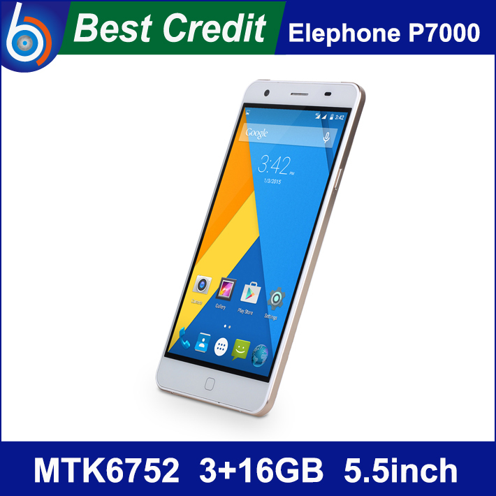 """Preorder! Original Elephone P7000 MTK6752 Octa Core 3GB RAM Android 4.4 4G LTE Cell Phone 5.5""""FHD Screen 13+5MP Fingerprint/Kate(China (Mainland))"""