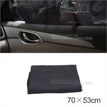 Buy 2pcs Black Auto Sun Visor Car Sun Shade Car Window Suction Cup Car Curtain Auto Car Styling Covers Automobiles Curtain 70X53cm for $6.99 in AliExpress store