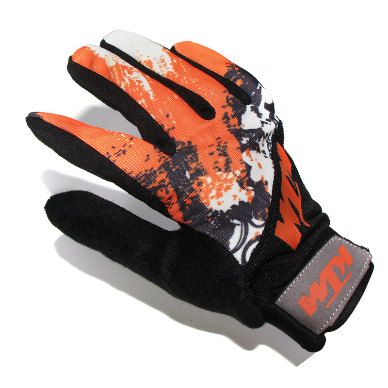 KTM New Summer Soft Breathable Motorcycle Gloves Good Quality Comfortable Motorbike Motocross Motos Glove Unisex Free Shipping(China (Mainland))