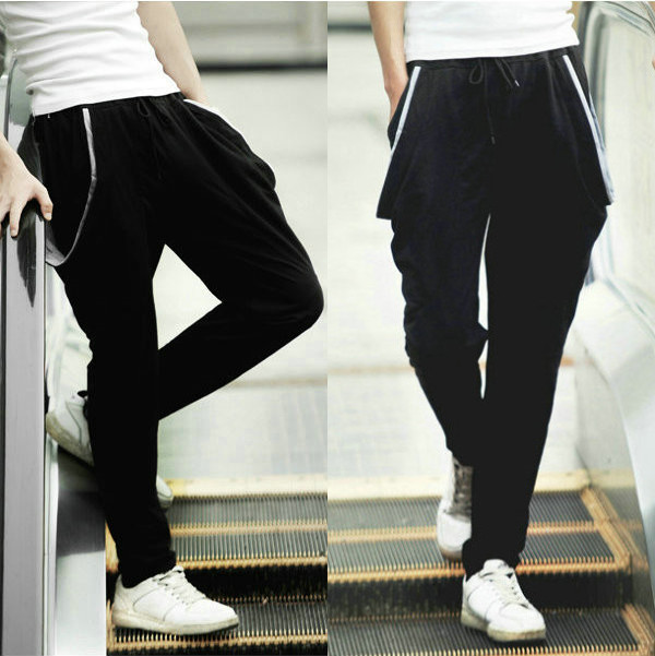 Excellent Shipping Korean Style Elastic Loose Casual Harem Pants Women Pants