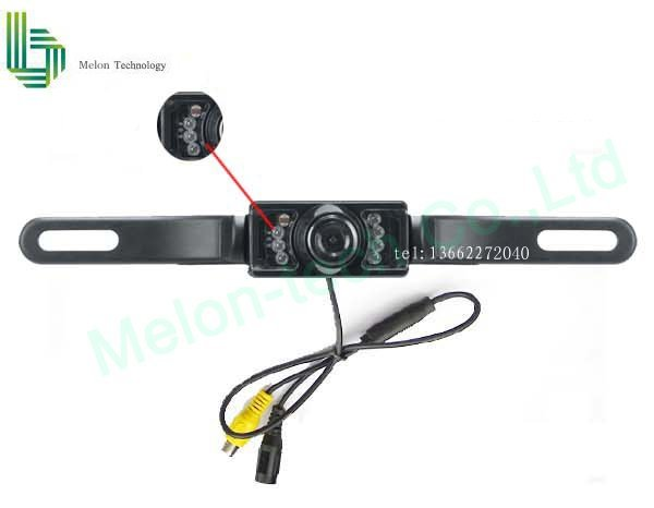 FREE SHIPPING! car rearview camera,fully waterproof,license plate