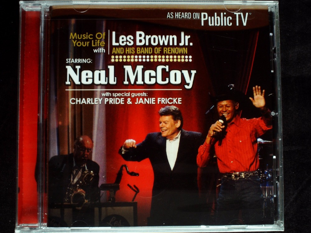 Les Brown Jr & Neal Mccoy Music of Your Life With CD SEALED(China (Mainland))