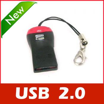 USB 2.0 MicroSD T-Flash TF M2 Memory Card Reader