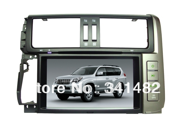 Android CAR DVD PLAYER WITH GPS FOR TOYOTA PRADO 2010-2012 Navigation Radio Bluetooth TV Free Maps  -  Shenzhen TomTop E-commerce Technology Co., Ltd. store