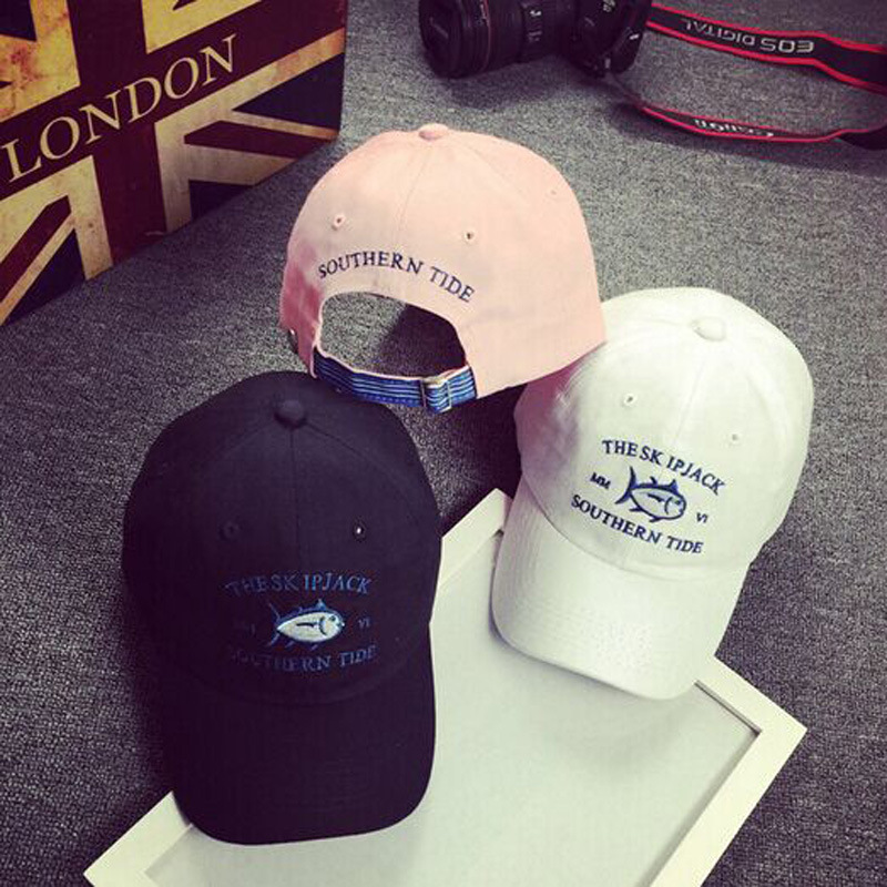 2016 New Sun Golf Casquette Rare Drake Southerns Tide Small Fish Hat 6 Panel bone aba rate Snapback Baseball Cap for Men Women(China (Mainland))