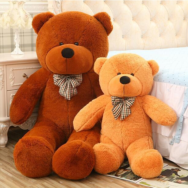 1pcs 80cm Plush toys large size0.8m / teddy bear 80cm/big 4 colors embrace bear doll /lovers/christmas gifts birthday gift(China (Mainland))
