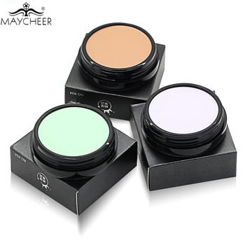 Professional Base Makeup Concealer Foundation Cream 10 Colors Oil-control Moisturizing Cover Pore Camouflage Contouring Palette