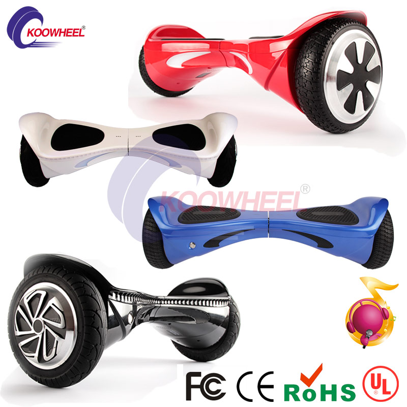 2016 Hot factory wholesale koowheel 8 two-wheel self balancing scooter air hover boards oxboard hoverboard bluetooth skateboard<br><br>Aliexpress