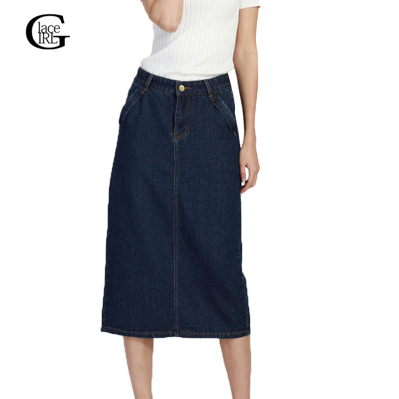 High Quality Maxi Denim Skirts Promotion-Shop for High Quality ...