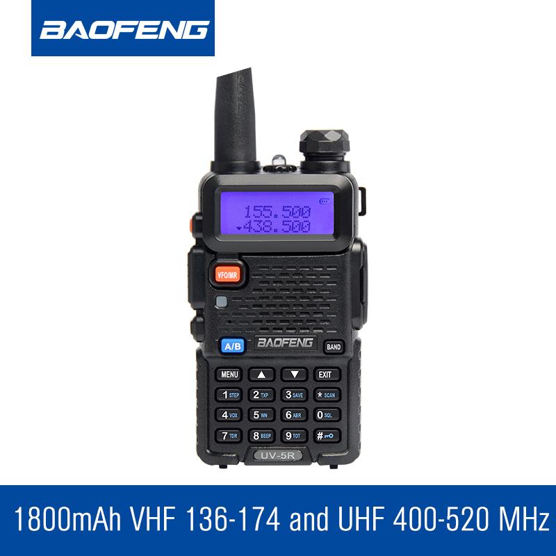 BAOFENG UV-5R ham radio Dual Band Radio 136-174Mhz & 400-520Mhz Baofeng UV5R handheld Two Way Radio Walkie talkie(China (Mainland))