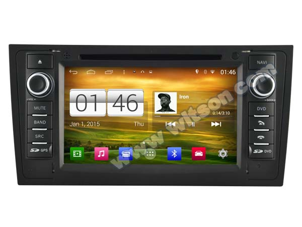 WITSON S160 CAR DVD for  AUDI A6 1997-2004 AUTO STEREO RADIO Quad Core Android 4.4.4 1024X600 HD Screen+16G Flash+DVR/WIFI/3G<br><br>Aliexpress