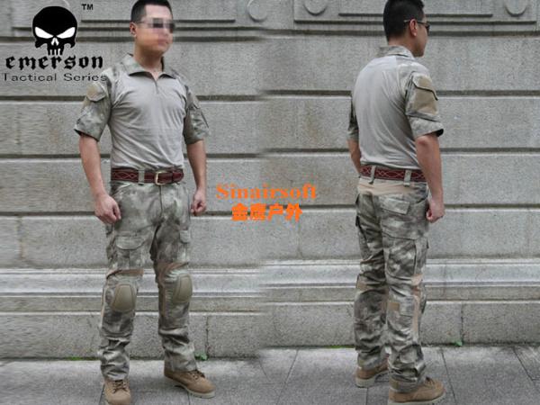 lyj EMERSON Tactical Version Combat Set Navy Sea-air-land Combat Were Set At Shirt + Pants A-TACS Summer Edition free shipping(China (Mainland))