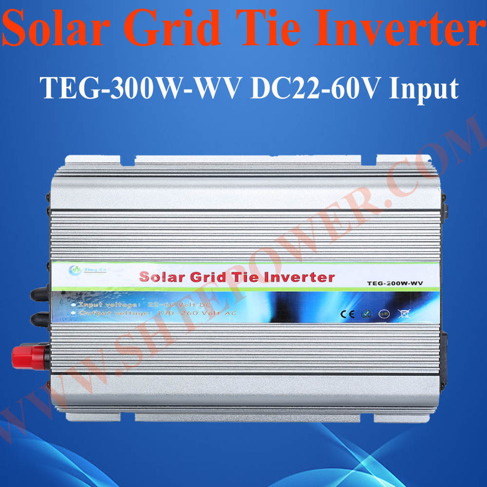 DC 22-60v 300w Micro Grid Tie Inverter 300w for 400w Solar Panel System(China (Mainland))