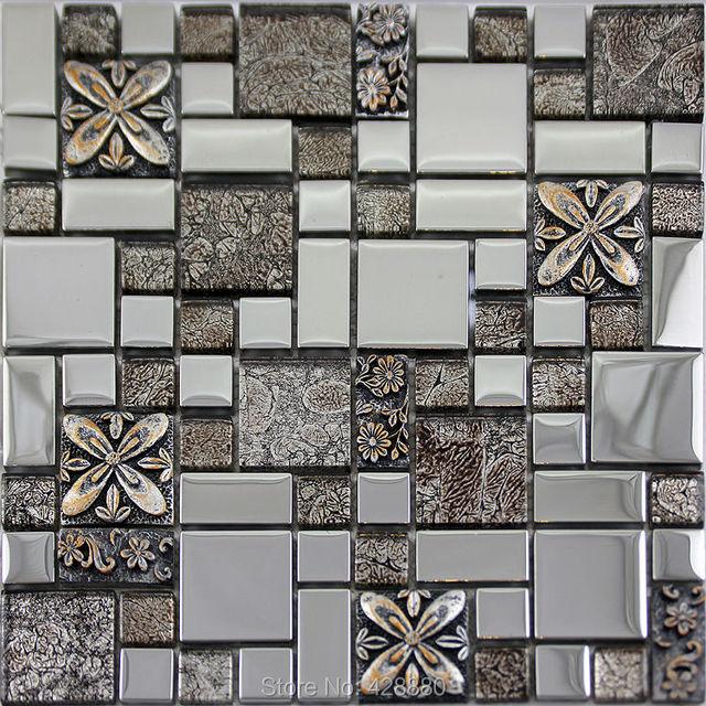 Cristal Mosa 239 Que De Verre Fissure Art Mur Plaqu 233 Dosseret