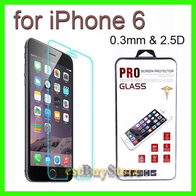 Защитная пленка для мобильных телефонов iPhone 6 0,3 2,5 d ,