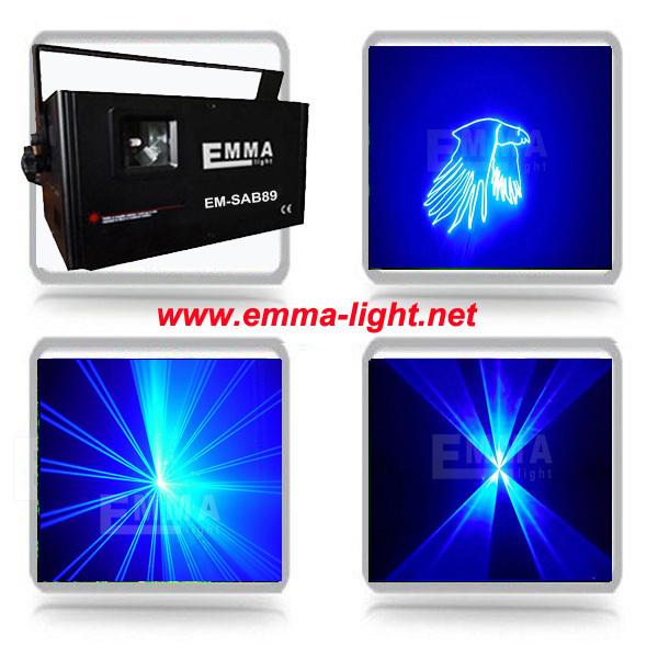 DHL American DJ DMX 2w blue laser lamp Black Light Bar LED Effect dj Light(China (Mainland))