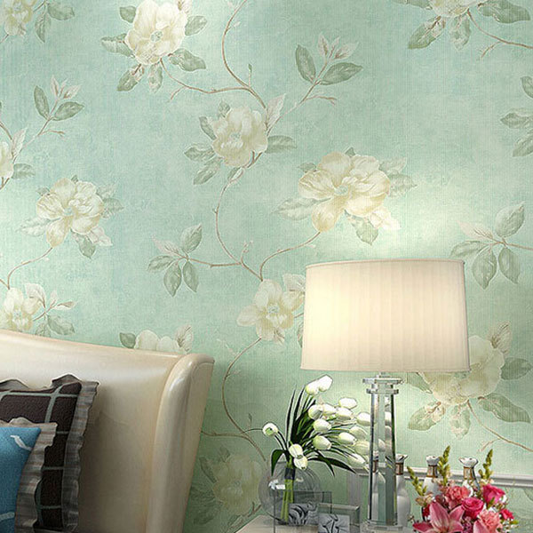Fresh country romantic wedding room decor wallpaper for Wallpaper home vintage